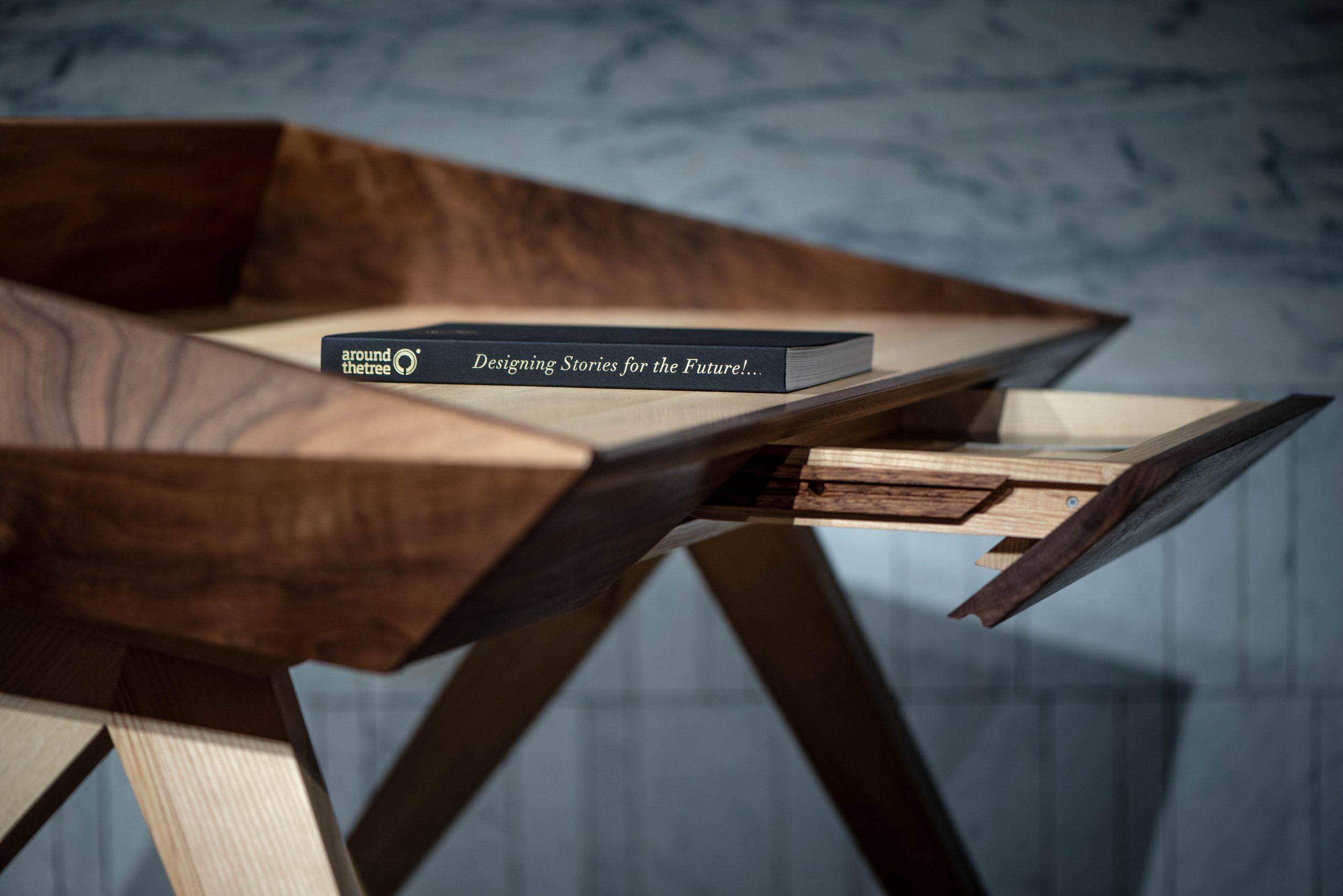 solid wood desk, WOW desk